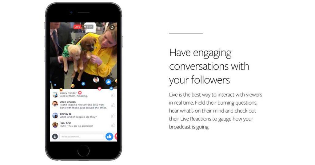 Facebook Live. Televisión en la palma de tu mano