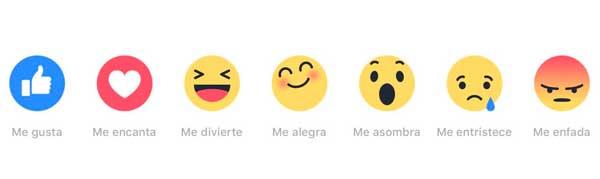 Marketing de Emociones. FaceBook Reactions
