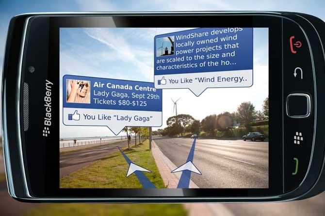 Facebook y Realidad aumentada