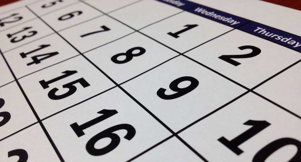 Community Manager. Calendario de contenidos