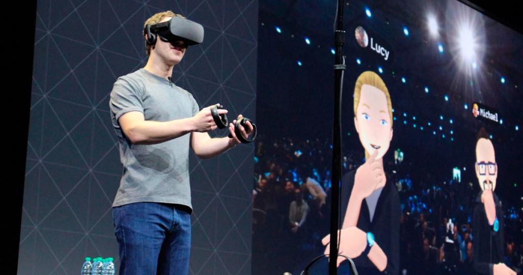 Facebook y Occulus. Realidad virtual