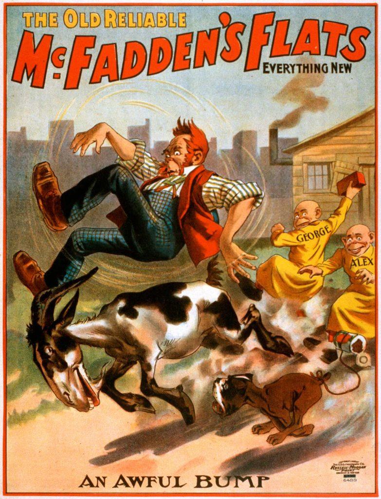 Publicidad en imágenes 1. McFaddens Flats