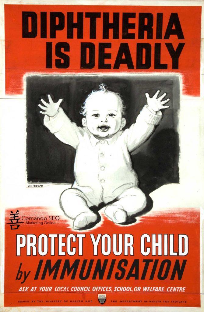 Publicidad en Imágenes 5. Protege a tu Hijo de la Difteria