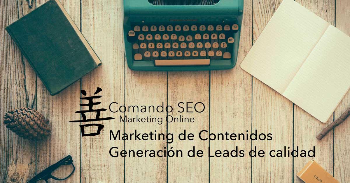 Marketing de Contenidos. Embudos de Conversión Inteligentes