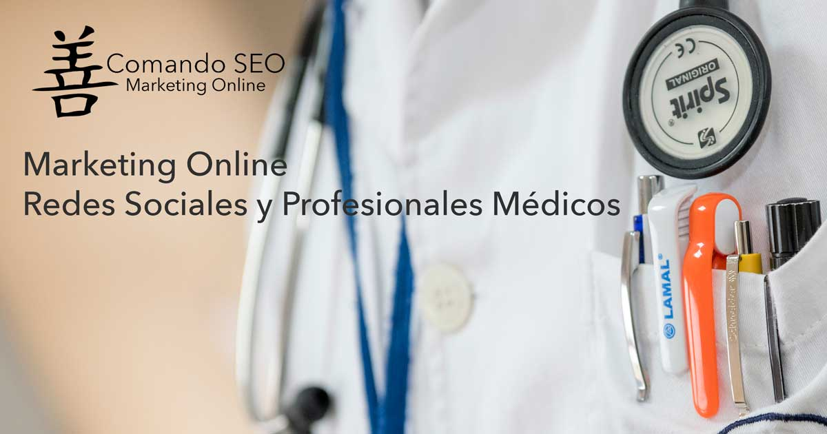 Marketing en Redes Sociales para profesionales médicos.