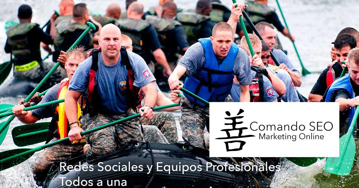 Redes Sociales y Equipos Profesionales.
