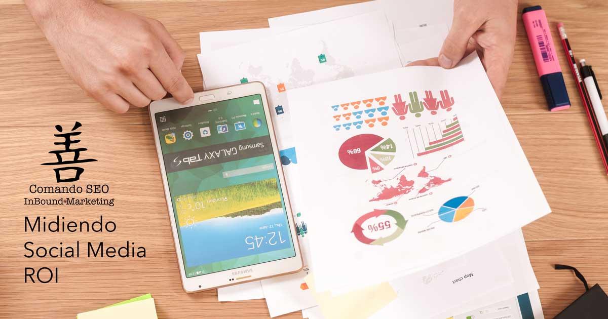 ¿Cómo medir el Retorno de la Inversión (ROI) en Redes Sociales? Comando SEO. Marketing Online