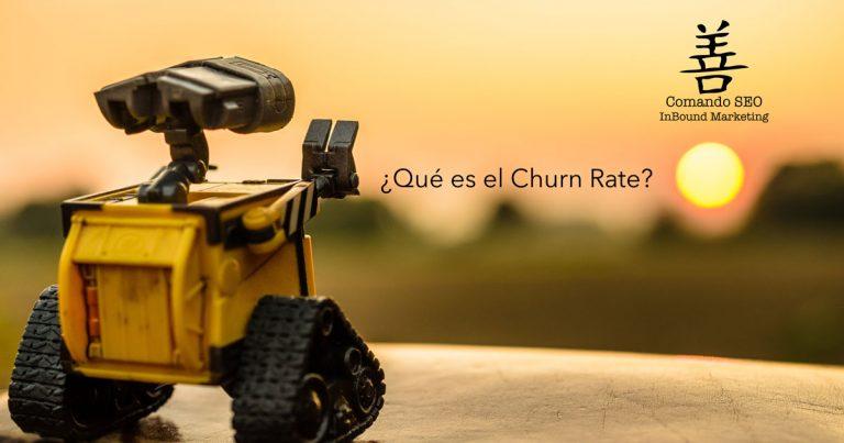 Churn Rate. ¿Qué es?